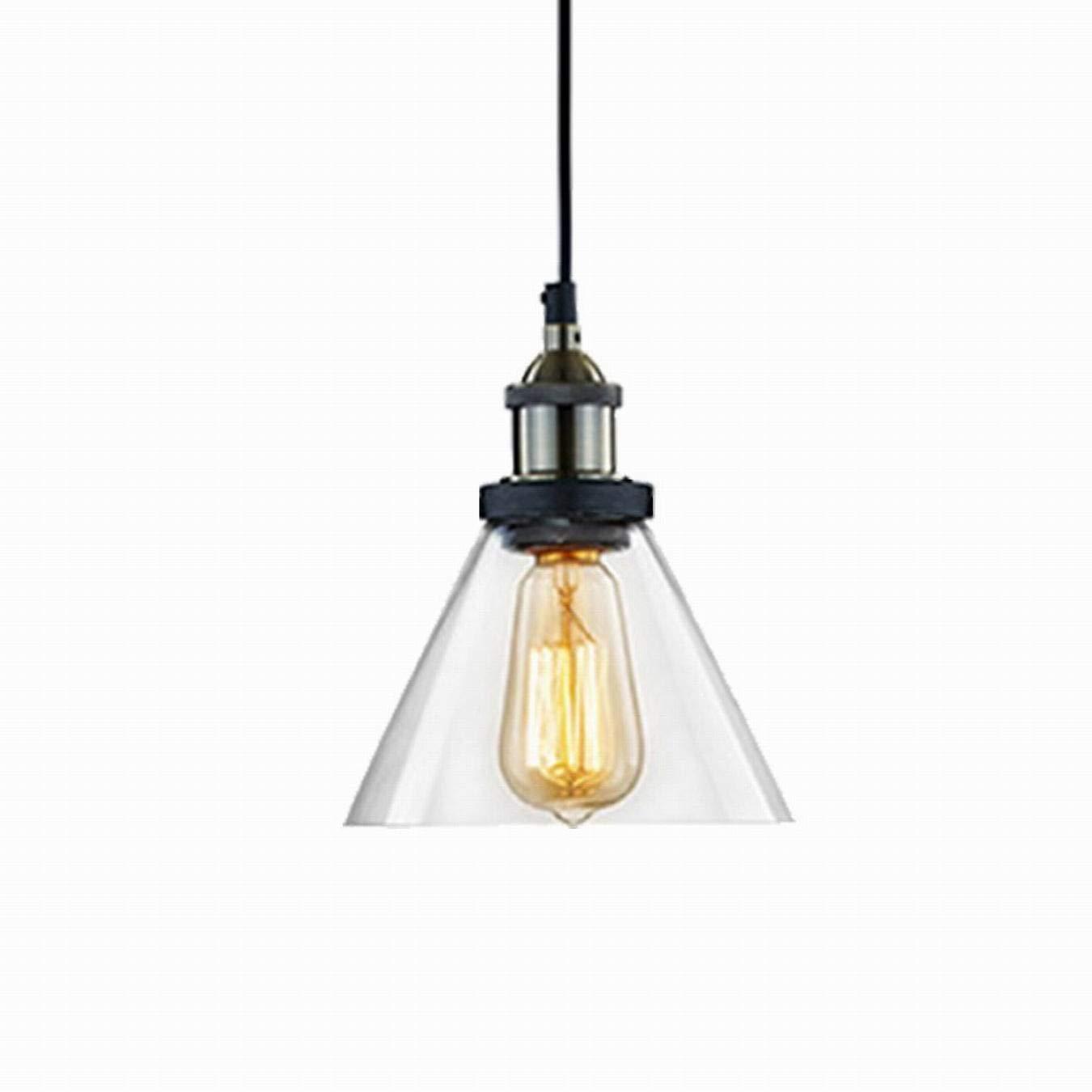 CLAXY Industrial Loft Clear Glass Ceiling L& Shade Pendant Light  sc 1 st  Amazon UK & Vintage Style Bathroom Lighting: Amazon.co.uk