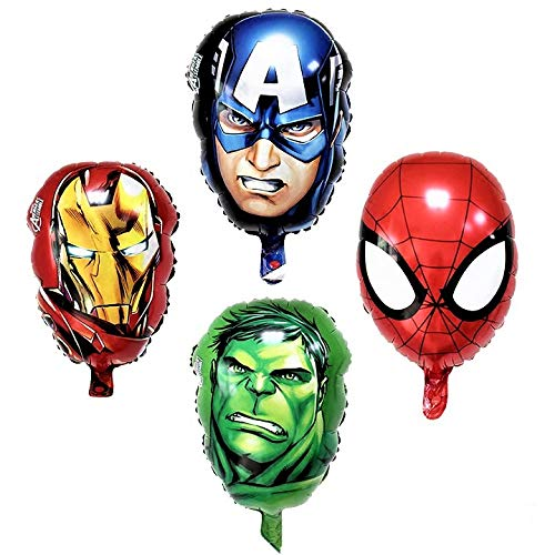 Marvel Avengers Party Balloon Decorations 4-Piece Set