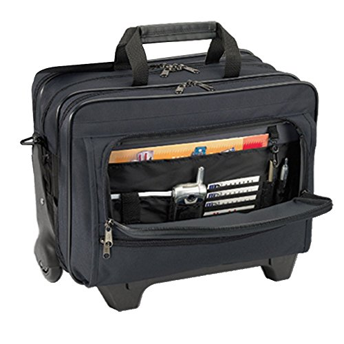 Rolling Executive Home Healthcare Bag for Medical Professionals by Hopkins Medical Products