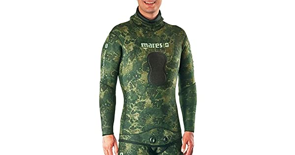 Amazon.com: Mares Pure Instinct Camo Green 7 mm Hombre: Clothing