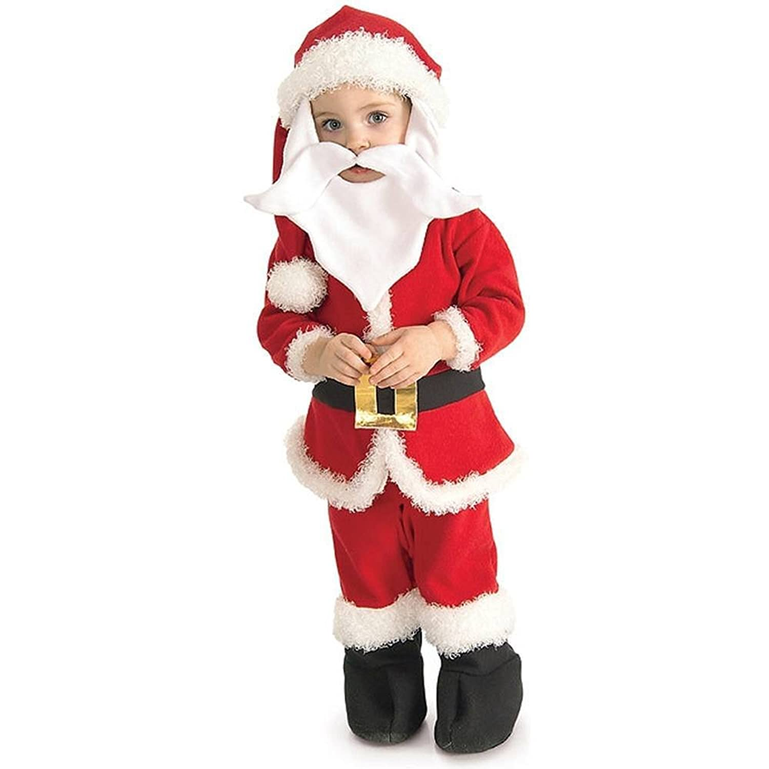 amazoncom santa toddler costume clothing - Santa Claus Children