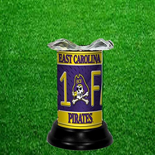 East Carolina Pirates Lamp - EAST CAROLINA PIRATES NCAA TART WARMER - FRAGRANCE LAMP - BY TAGZ SPORTS