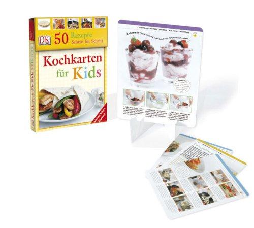 Kochkarten für Kids: 50 Rezepte Schritt für Schritt