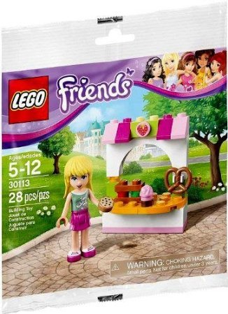 LEGO Friends Stephanie's Bakery Stand 30113 (28 Pieces) (Stephanies Bakery Stand compare prices)