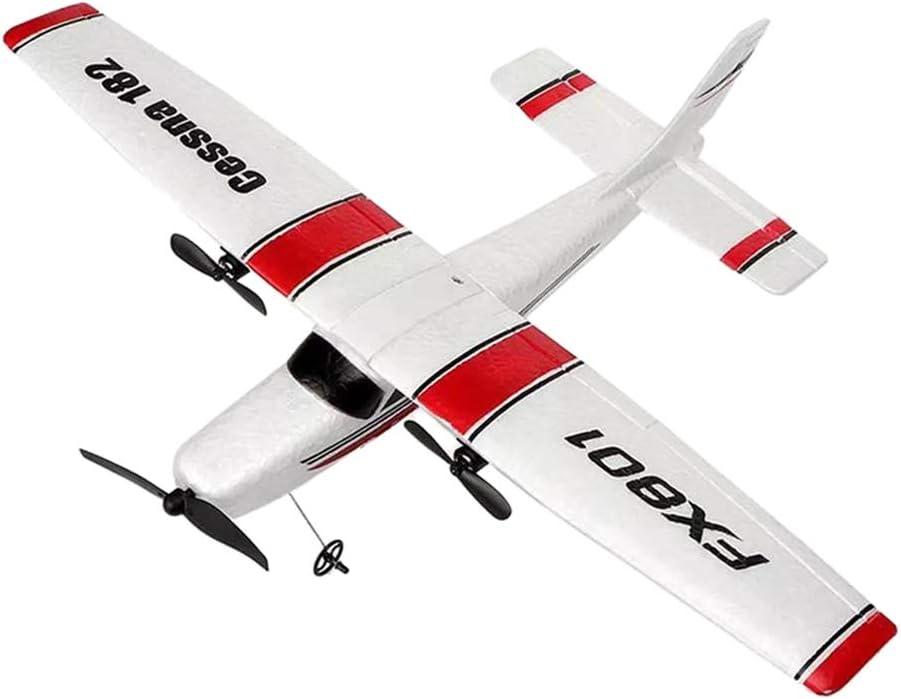 IPOTCH Modelo de Avión de Combate Radiocontrol de Asamblea 2.4Ghz Coleccionable Niños