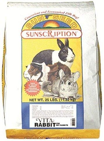 Sunseed Sunscription Vita Rabbit Formula, 25 Pound Bag