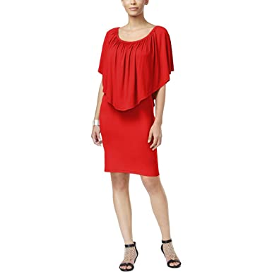 479cb921484 Thalia Sodi Convertible Ruffled Off-The-Shoulder Dress at Amazon ...