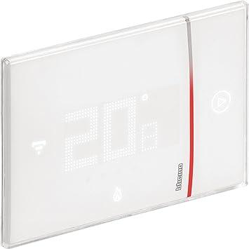 Bticino X8000 Termostato Conectado para empotrar con Wi-Fi Integrado, 2 W, 240 V, Profesional, empotrable, Blanco: Amazon.es: Bricolaje y herramientas