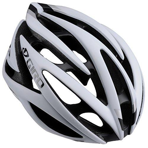 Giro Atmos II Helmet, Matte White/Black, Medium 21.75-23.25