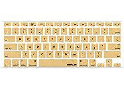 iBenzer MKC01GD Macaron Series Keyboard Cover for MacBook Pro 13\
