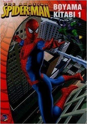 Spiderman Boyama Kitabi 1 Kolektif Amazoncomtr