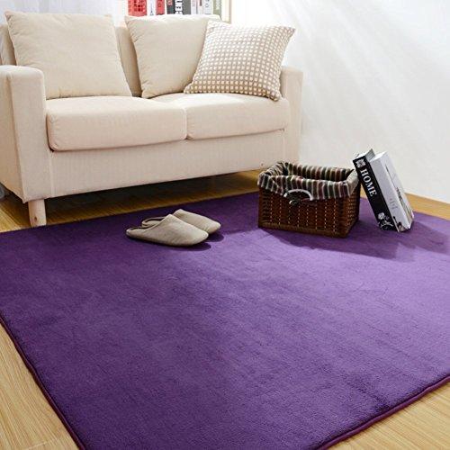 HOMEE Modern Simple Carpets/ Bedroom Blanket for Bedroom /Living Room,Sofa, Carpet,C,180X180Cm(71X71Inch) by HOMEE