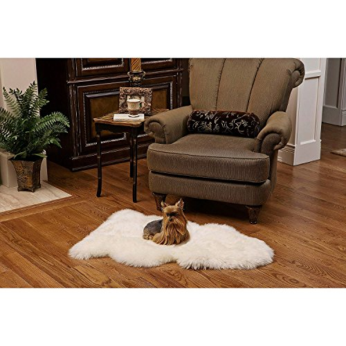 - Shear Style Collection 100% Genuine Sheepskin Rug