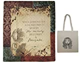 When Someone You Love Quilt & Tote Multipack Memorial Gift Inspirational Blanket