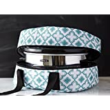 iEnjoyware Slow Cooker Insulated Tote - 15 X 11 X 8 Inches - Teal