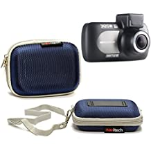 Navitech Blue Water Resistant Hard Case Cover For TheNextbase 312GW Dash Cam