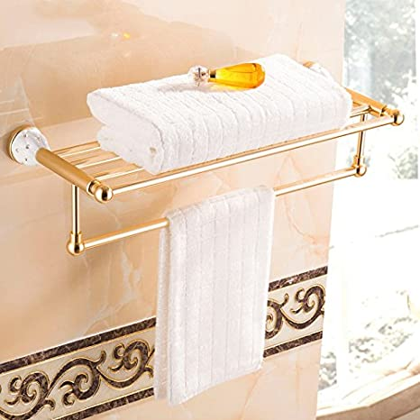 Accesorios de baño Yomiokla - Toalla de metal para cocina, inodoro, balcón y bañoPared
