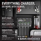 NOCO GENIUS2X4, 4-Bank, 8-Amp