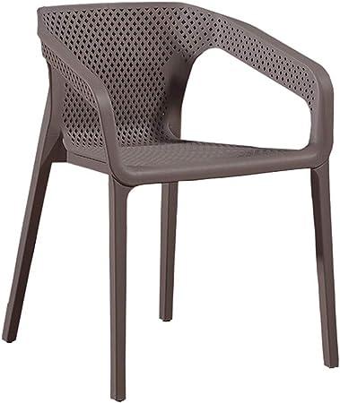 LXQGR Chaises de Jardin empilables, Chaise en Plastique