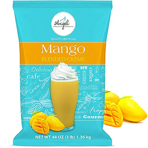 Mango Blended Crème Mix by Angel Specialty Products [3 LB]