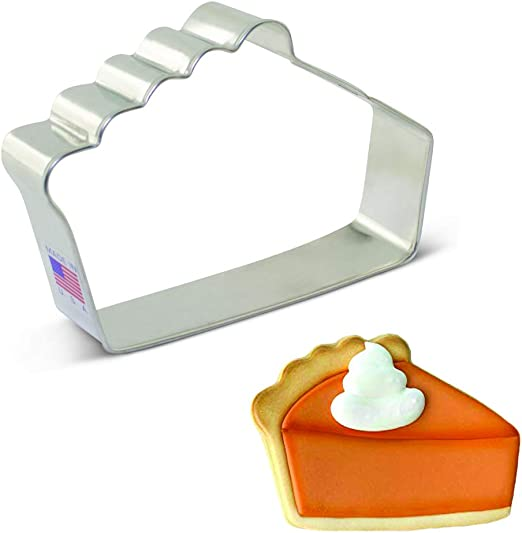 Pizza or Pie Slice Cookie Cutter