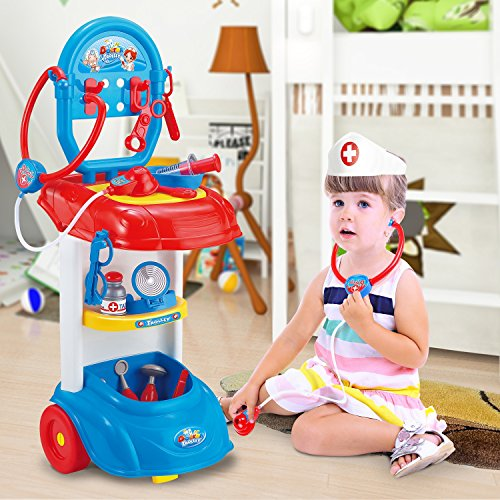 GAMZOO Doctor Kit Set Pretend Play Toy Gift for Kids 3,4,5 ...