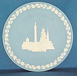 Wedgwood Jasper Christmas Plate 1970 FRAMED