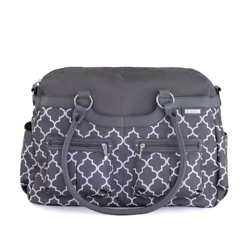JJ Cole Satchel Diaper Bag, Stone Arbor by JJ Cole