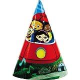 Little Einsteins Party Hats 8ct