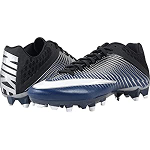 Nike Vapor Speed 2 TD Football Cleats (12, Navy/Metallic Silver/Black/White)