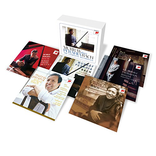 (Murray Perahia Plays Bach - The Comp Lete Recordings )