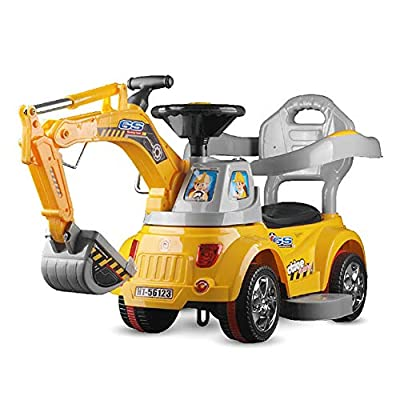 LGQ Kids Toys, Simulation Electric Stroller, Remote Control and Sliding Dual Mode Rideable Children's Toy RC Car: Sports & Outdoors
