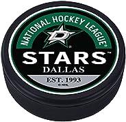 Dallas Stars Block Textured Puck