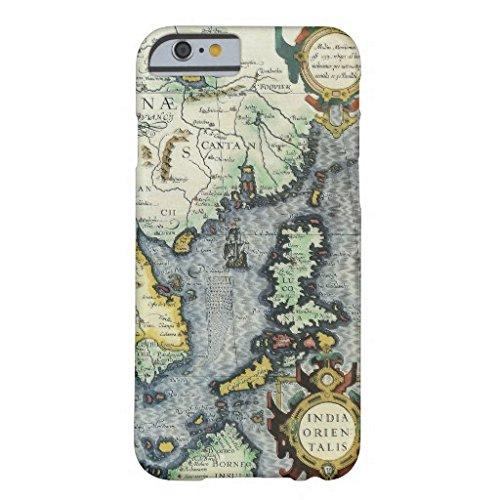 17th Century Antique Asian Map Mercator Hondius IPhone 6 Plus/6s Plus Case (Mercator Antique Map)