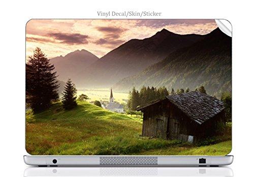 Laptop VINYL DECAL Sticker Skin Print Beautiful forest fits Chromebook 550