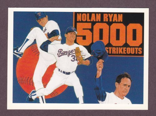 Nolan Ryan 1990 Upper Deck Baseball (5000 Strikeouts) for sale  Delivered anywhere in USA