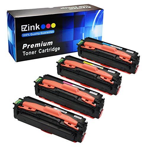 E-Z Ink (TM) Compatible Toner Cartridge Replacement For Samsung 504 504s CLT-K504S CLT-C504S CLT-M504S CLT-Y504S (1 Black, 1 Cyan, 1 Magenta, 1 Yellow) 4 Pack Toner Cartridges