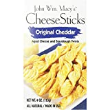 John Wm Macy's Original Cheddar CheeseSticks Gourmet Snack, 4 Oz Pack 3
