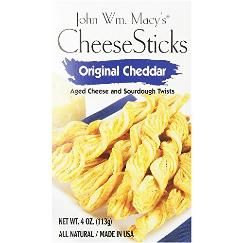 John Wm Macy's Original Cheddar CheeseSticks Gourmet Snack (Cheddar, Pack of - Macy's Shopping