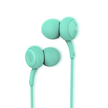 MOREFINE In ear Auriculares Deportivo Inalámbrico con cable Audifonos Cancelación de Ruido Llamadas Manos Libres Micrófono