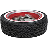 Tire Coin and Paper Clip Holder For Desk or Workshop