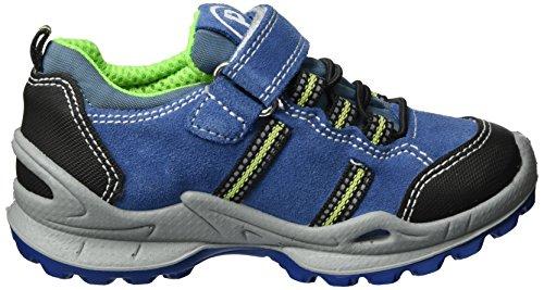 Primigi Pfogt 7636, Zapatillas Para Niños Azul (Bluet/jeans/ner)