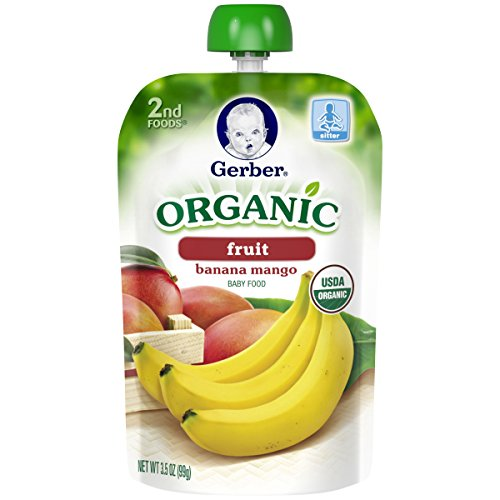 Gerber Organic 2nd Foods Purees