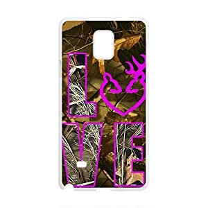 The Creative Love Design Hard Case Cover Protector For Samsung Galaxy Note4