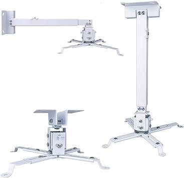 Universal Extendable Adjustable Tilt DLP LCD Ceiling Projector Mount Bracket