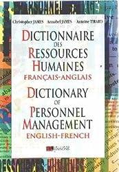 DICTIONNAIRE DES RESSOURCES HUMAINES. Bilingue français-anglais et anglais-français