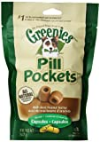 Greenies Pill Pockets for Dogs, Peanut Butter Capsules, 7.9oz - 6 pack