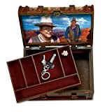 John Wayne Stagecoach Trunk Valet Box by The Bradford Exchange