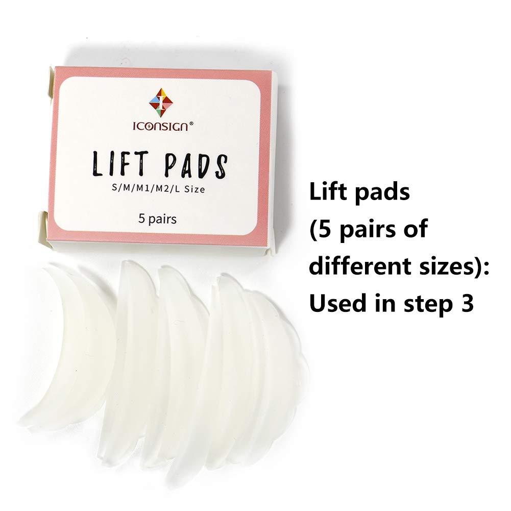 Lash Lift Kit Eyelash Perm Kit Cilia Extension Suitable For Salon For Professional Use eyelash lift ki by ICONSIGN (Image #7)