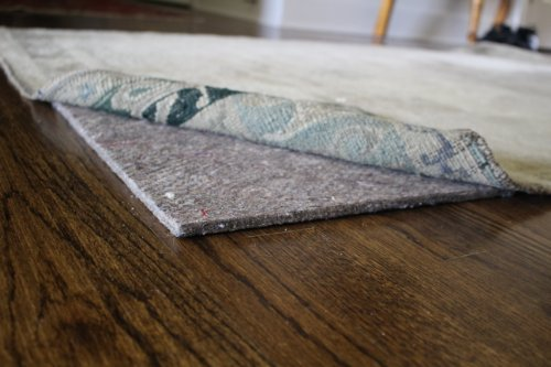 "Rug Pad Central, 1/4"" (20 oz Felt), 9'x12', Natural Comfort 20, Area Rug Pad"